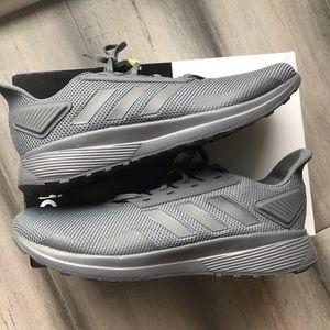 Adidas Duramo 9 grey Sz 11-12 new sneaker